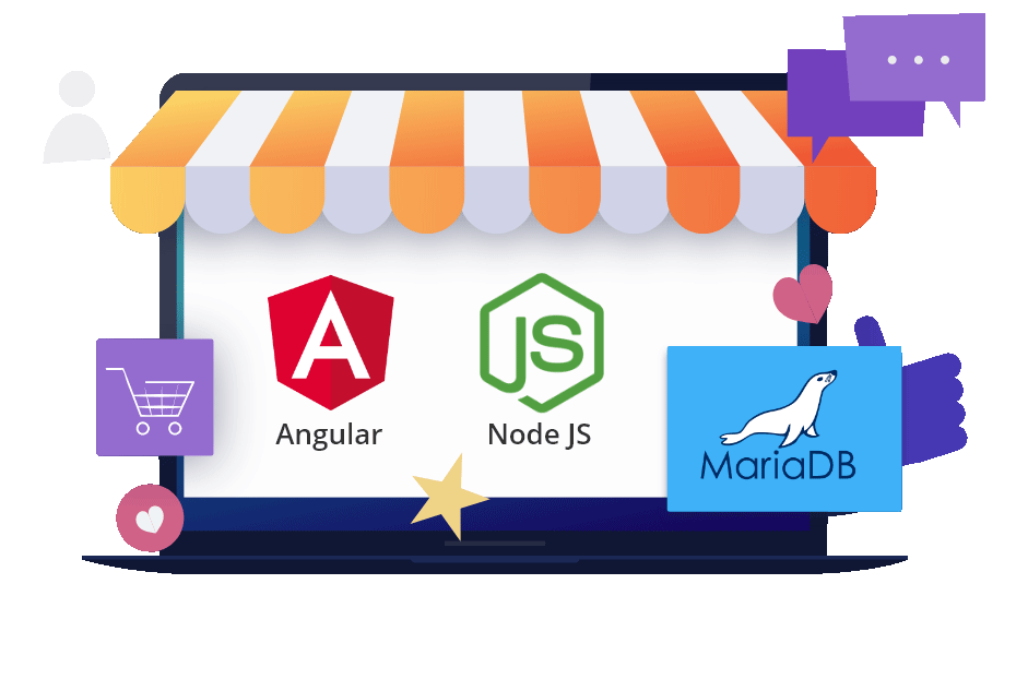 Node.js & Angular eCommerce Platform