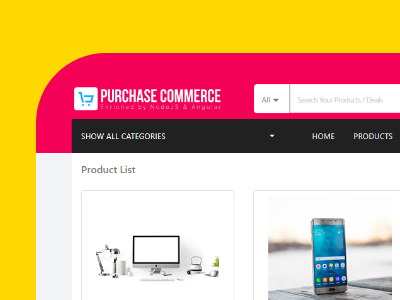Angular Shopping Cart Themes