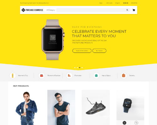Callisto Fashion Ecommerce Angular Theme
