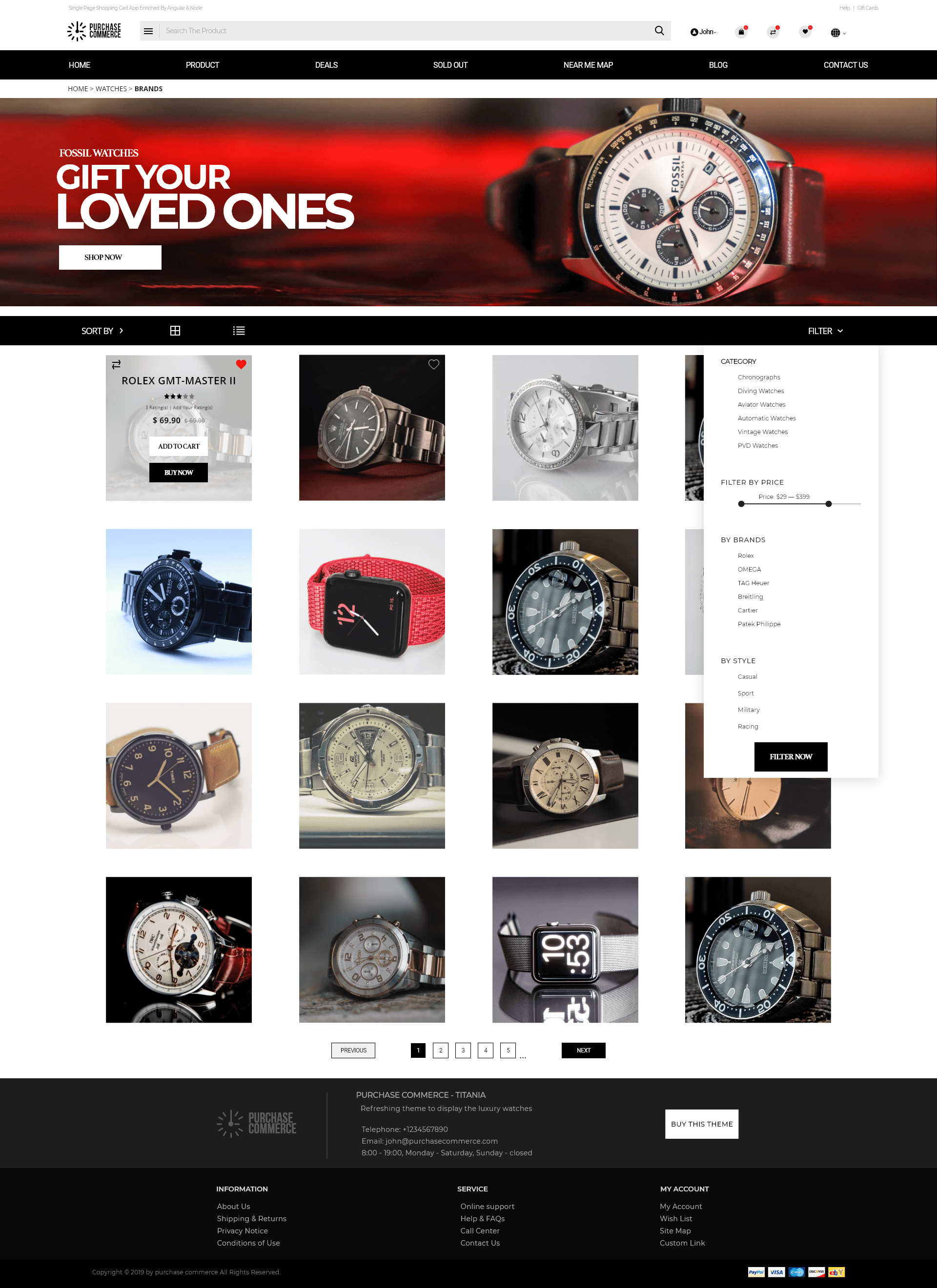 watches-ecommerce-website-templates